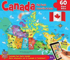 Master Pieces Canada Map Puzzle