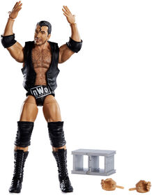 WWE - WrestleMania - Collection Elite - Figurine articulée - Scott Hall - Édition anglaise.