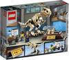 LEGO Jurassic World L'exposition du fossile de dinosaure T. rex 76940