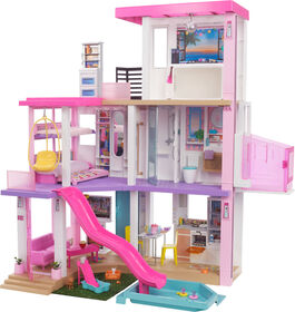 New Barbie Dreamhouse (3.75-Ft) Dollhouse With Pool, Slide, Elevator, Lights & Sounds