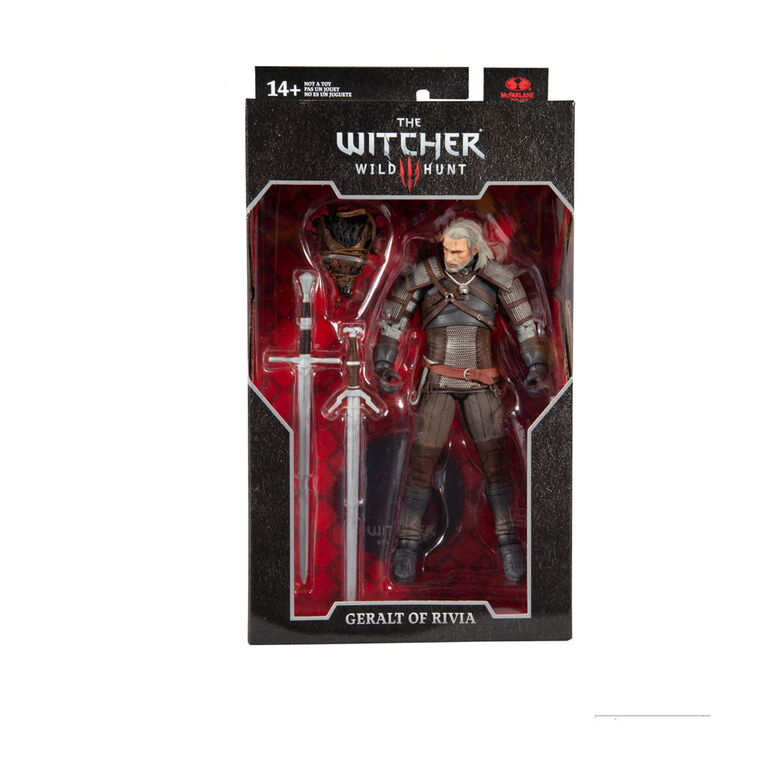 """The Witcher - Geralt of Rivia 7"""" Action Figure"""