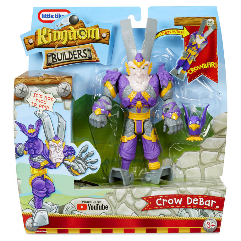Kingdom Builders Figure - Crow DeBar