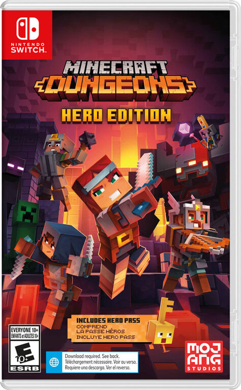 Nintendo Switch - Minecraft Dungeons Hero Edition