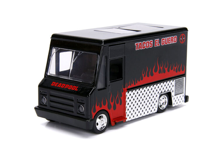 Hollywood Rides 1:32 / Deadpool Taco Truck