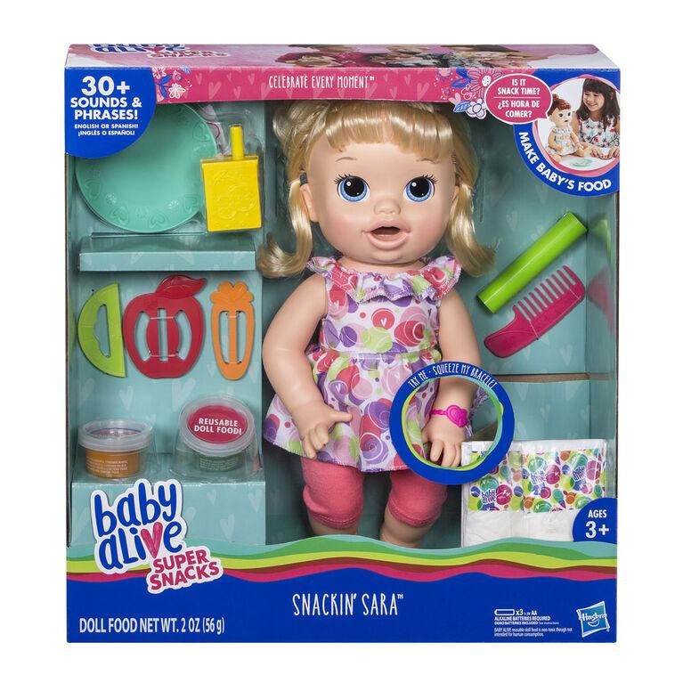 Baby Alive Snackin' Sara - R Exclusive