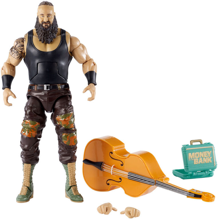 WWE - Top Picks - Collection Elite - Figurine articulée - Braun Strowman - Édition anglaise