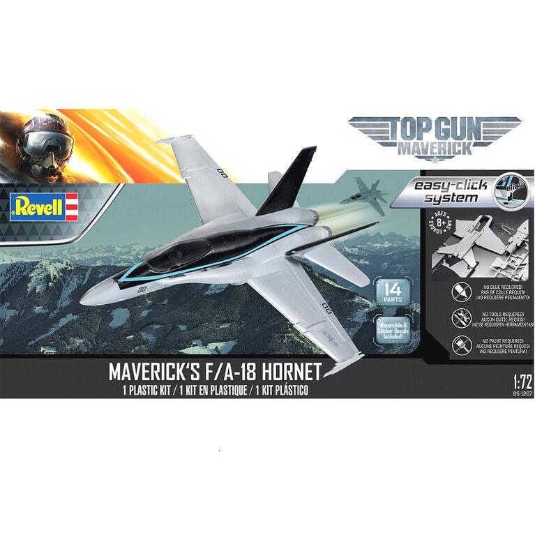 Revell F/A 18 Hornet Top Gun Easy Click - Model