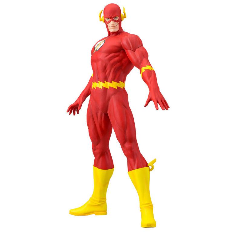Figurine ARTFX de Kotobukiya DC Comics Flash.