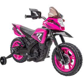 Huffy 6V R1 Girls Battery-Powered Ride-On Motorcycle, Pink