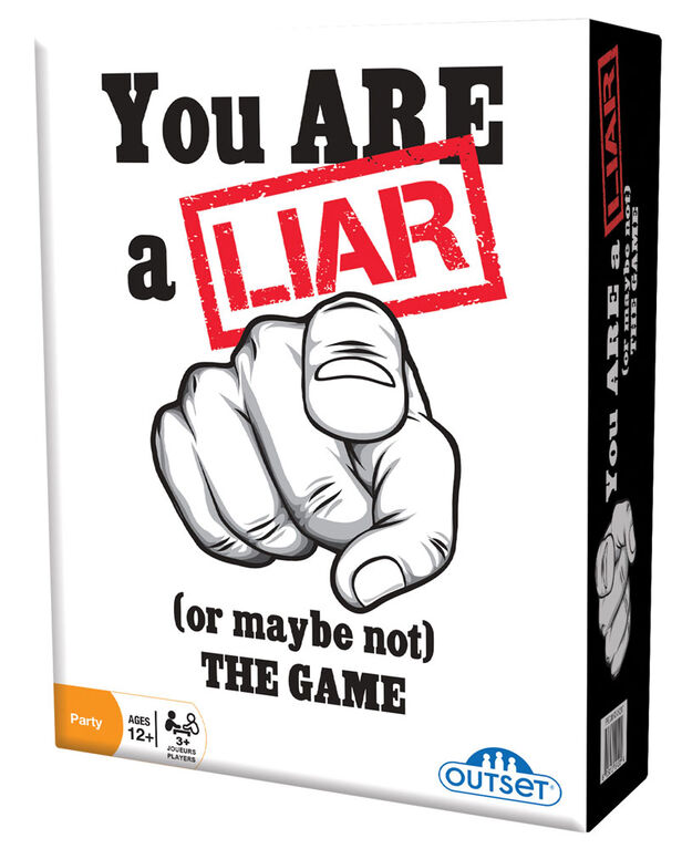 Outset Media - You Are A Liar - English Edition