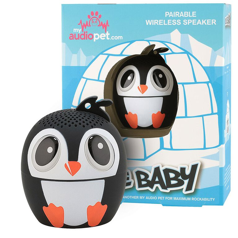 My Audio Pet - Ice Ice Baby - Penguin Bluetooth Speaker