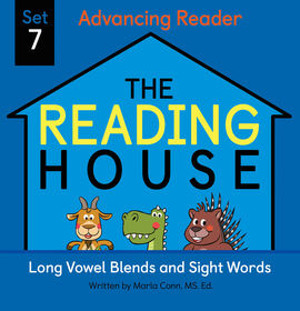 The Reading House Set 7: Long Vowel Blends and Sight Words - Édition anglaise