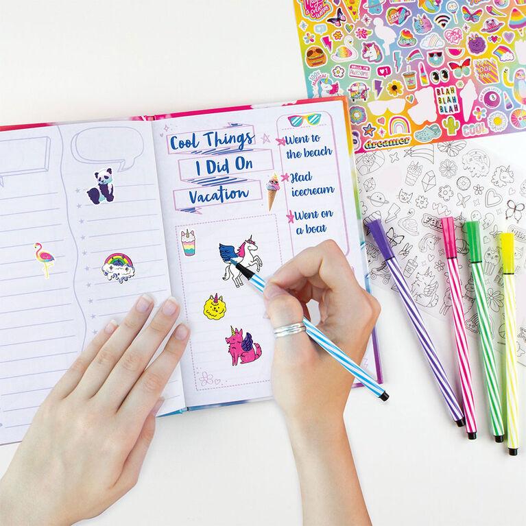Stay Chill Sloth Squishy Smash Journal Set