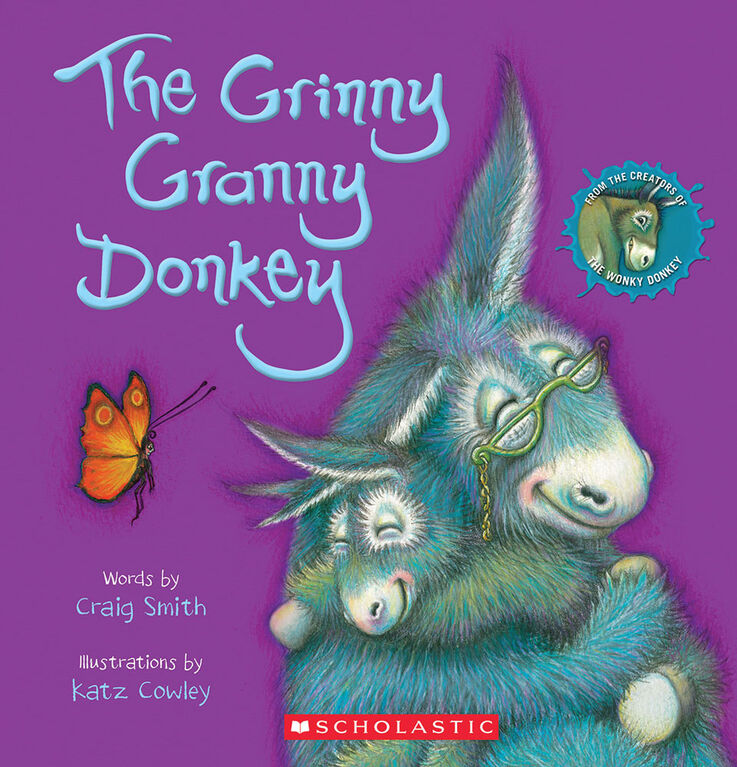 Scholastic - The Grinny Granny Donkey - English Edition