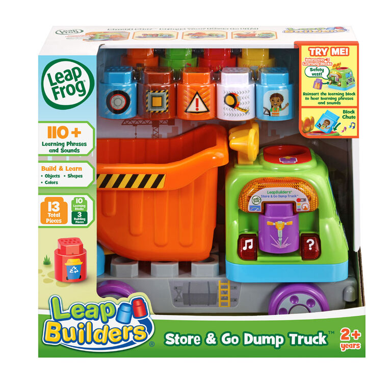 LeapFrog LeapBuilders Store & Go Dump Truck - English Edition