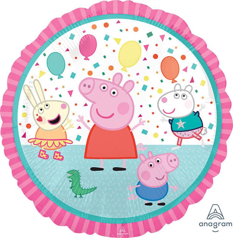 """Peppa Pig Standard 18"""" Foil Balloon"""