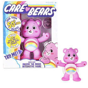 Care Bears Unlock the Magic Interactive Figures - Cheer Bear - English Edition