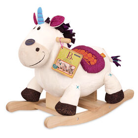 B. Toys Rodeo Rockers, Dilly-Dally, Wooden Rocking Unicorn