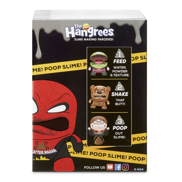 The Hangrees: Despicable Pee #2 Collectible Parody Figure with Slime