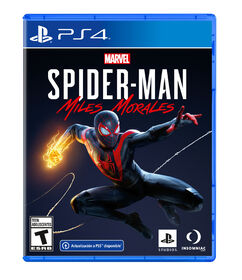 PlayStation 4 Marvels Spiderman Miles Morales