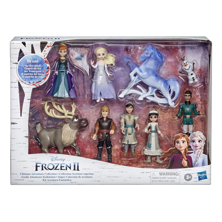 Disney's Frozen 2 Ultimate Adventure Collection, Includes 10 Dolls and 2 Capes, Inspired by Frozen 2 Movie - R Exclusive
