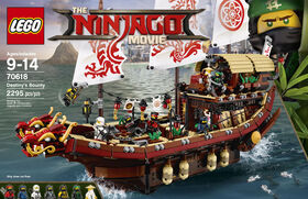 LEGO Ninjago Movie Le QG des Ninjas 70618.