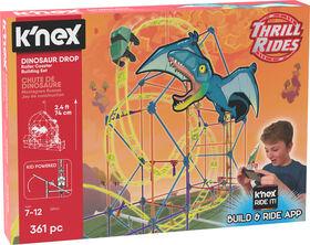 Dinosaur Drop Roller Coaster Building Set