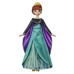 Disney Frozen Musical Adventure Anna Singing Doll - English Edition