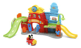 Vtech Go! Go! Smart Wheels - Disney Mickey Silly Slides Fire Station - English Edition