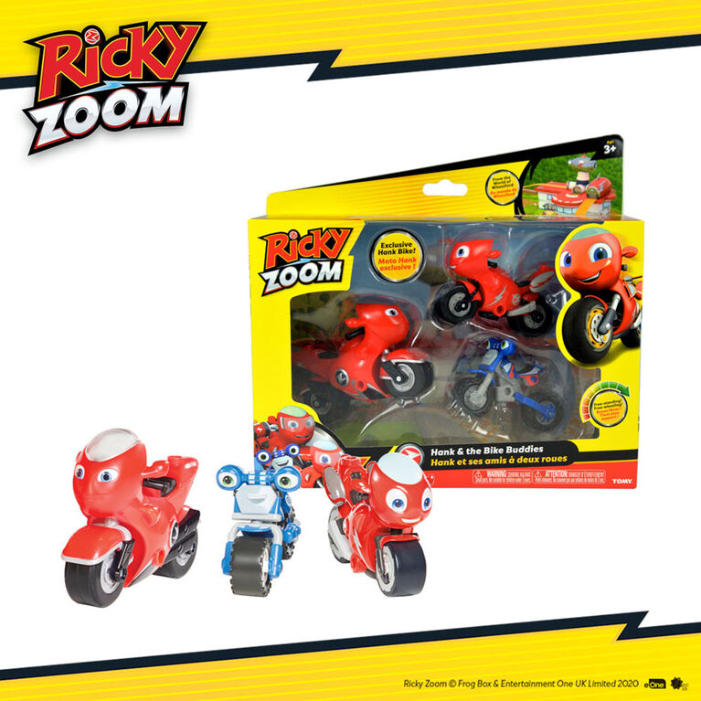 Ricky Zoom Bike Buddies Adventure Pack - Assortment May Vary - R Exclusive