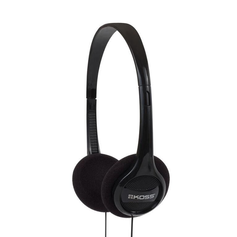 Koss Headphone KPH7 Portable On Ear Black