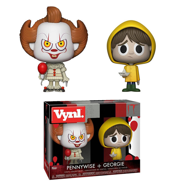 Funko Vinyl: IT - Pennywise and Georgie Vinyl Figure