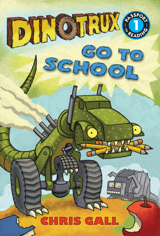 Dinotrux Goes to School Level 1 Reader