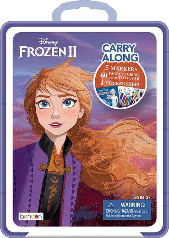 Étui de plastique à emporter Frozen II - Édition anglaise