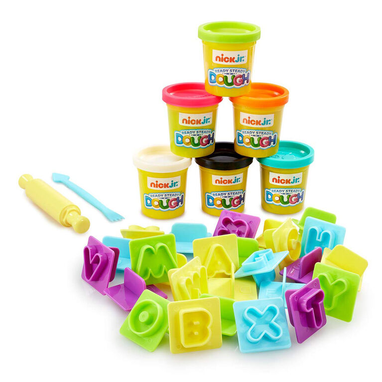 Nick Jr. Ready Steady Dough Alphabet Fun Train Accessories Set - R Exclusive