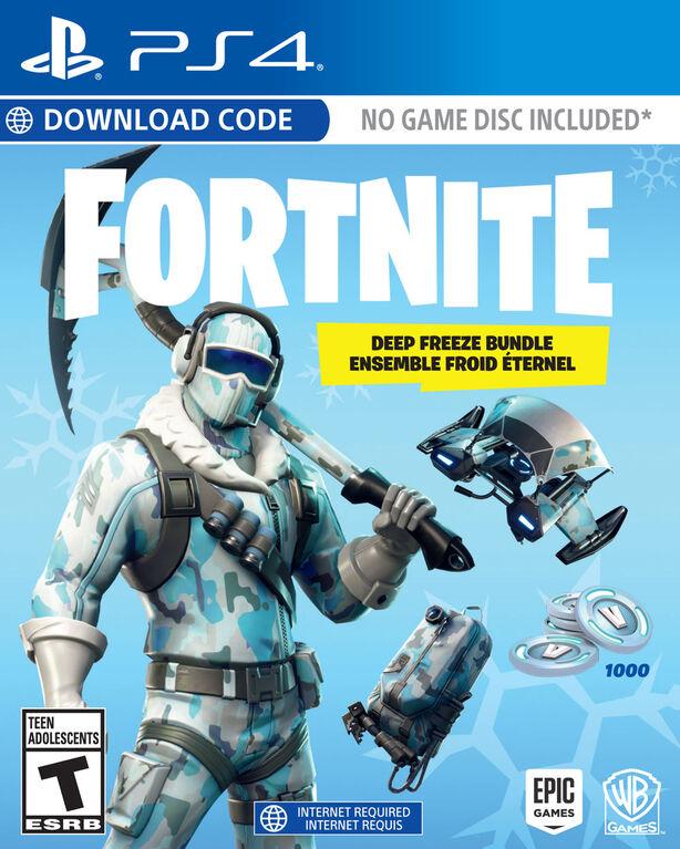 Play Station 4 - Fortnite: Deep Freeze Bundle