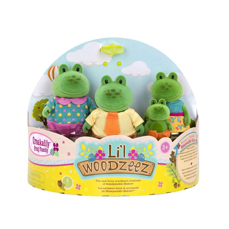 Li'l Woodzeez, Croakalily Frog