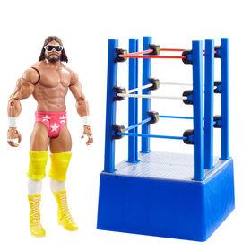 WWE – WrestleMania Moments – «Macho Man» Randy Savage et chariot de ring