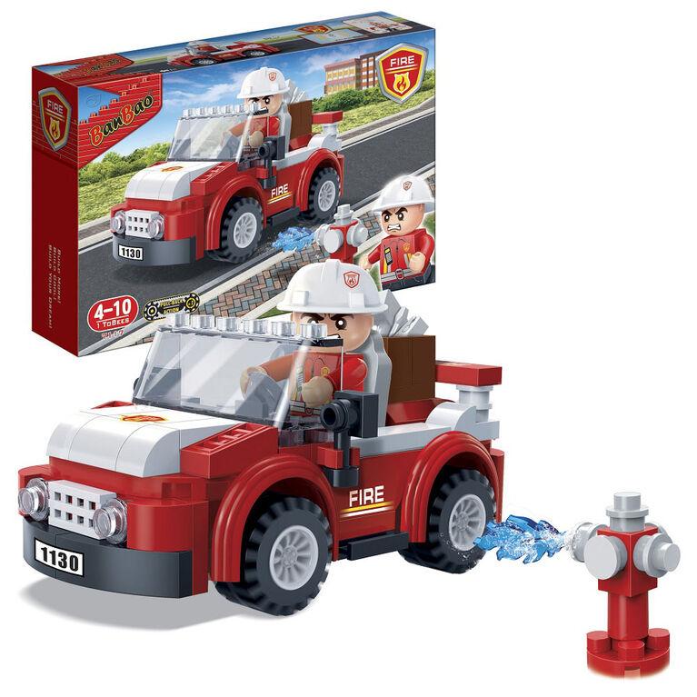 BanBao Fire - Firemen Car