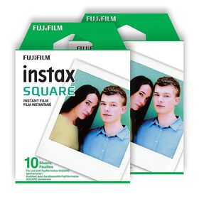 Fujifilm Instax Square  Instant Film - Twin Pack (20 EXP)