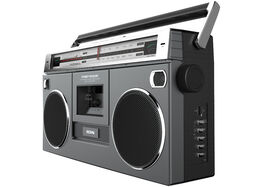 Ion Street Rocker SPR Retro Boombox With Cassette Deck