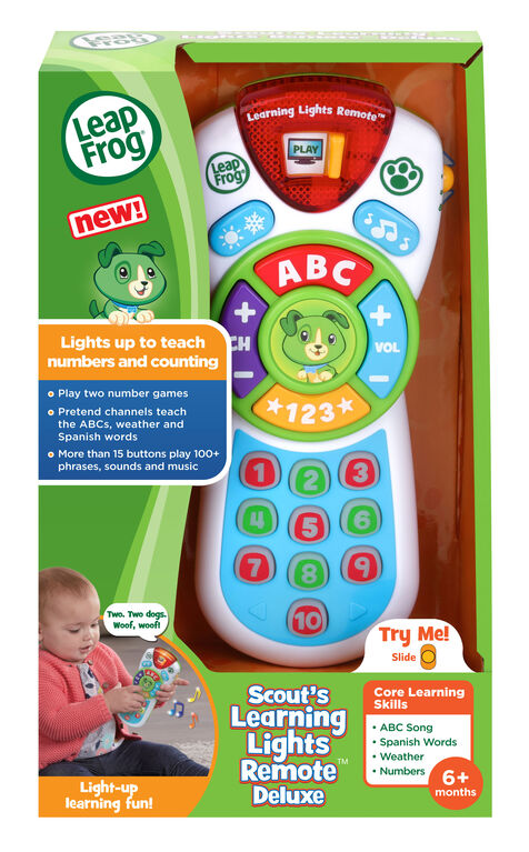 LeapFrog Scout's Learning Lights Remote Deluxe - English Edition
