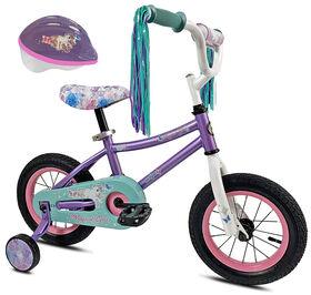 Avigo Magical with helmet - 12 inch Bike