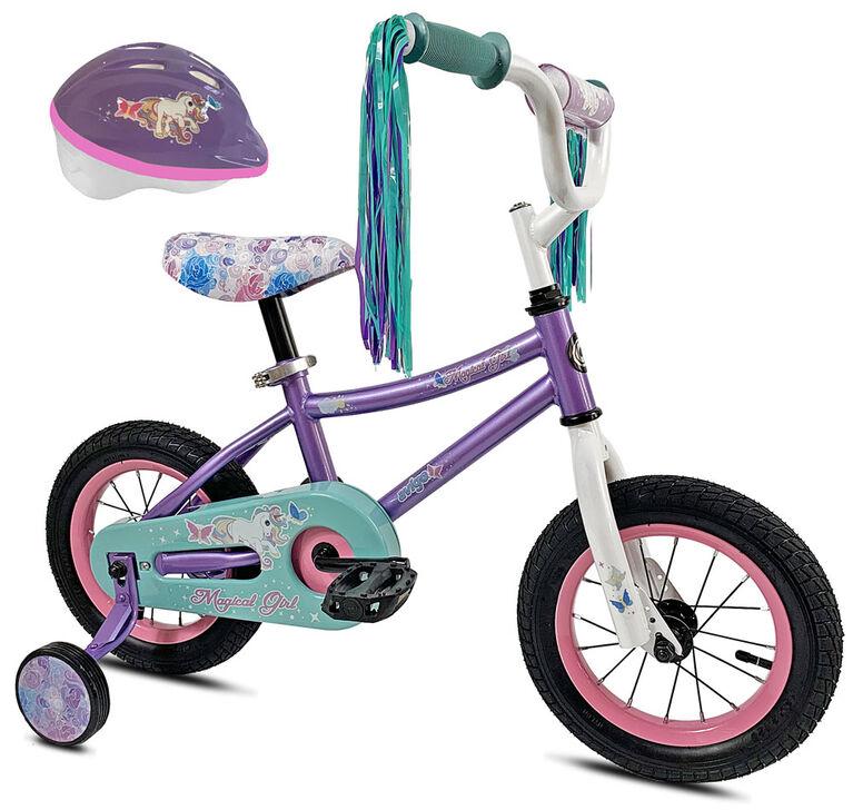 Avigo Magical avec casque - Vélo 12 po
