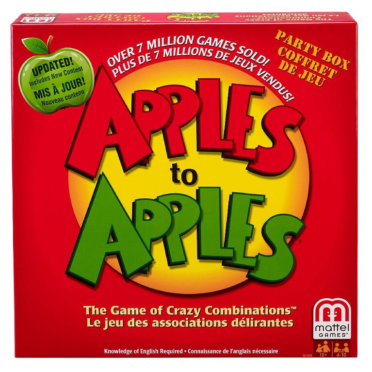 Apples to Apples Party Box - English Edition