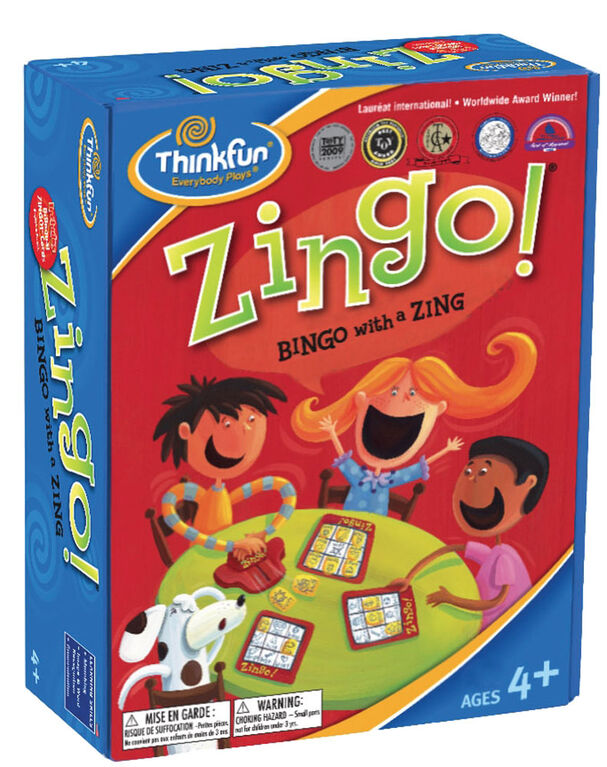Thinkfun games - Zingo! Bingo with a Zing - Édition anglaise