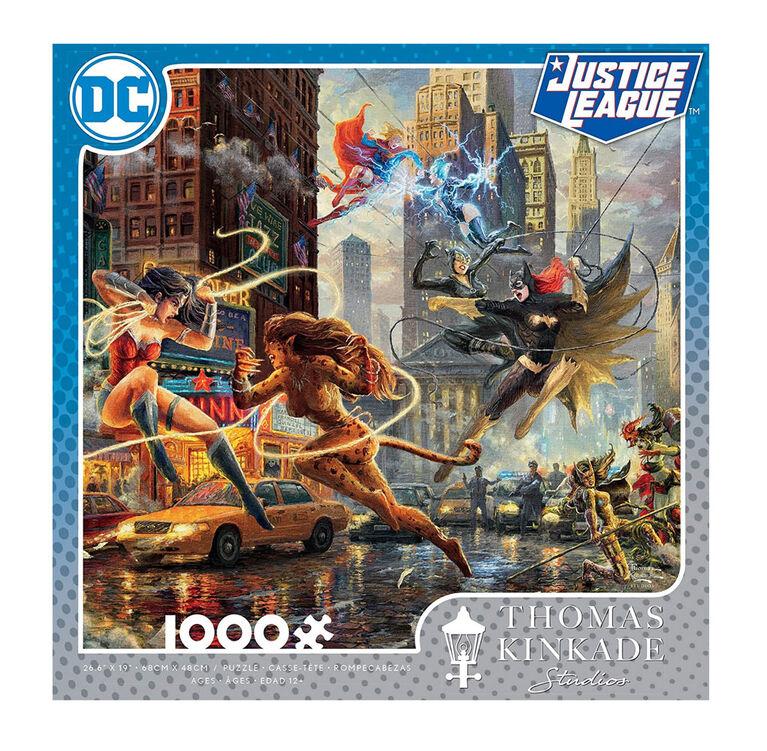 Ceaco Thomas Kinkade DC Comics 1000-Piece Puzzle The Women of DC