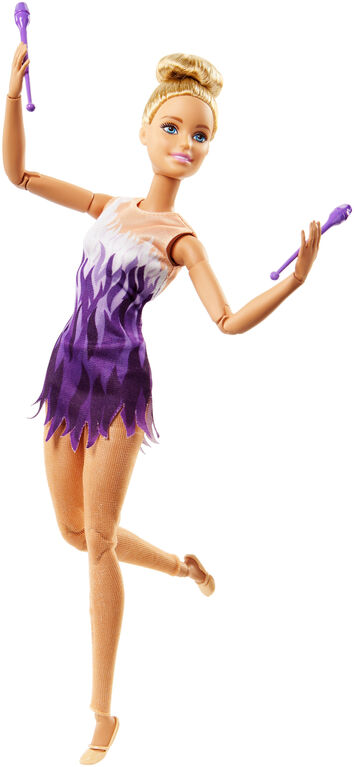 Barbie Ultra Flexible - Poupée Gymnaste rythmique