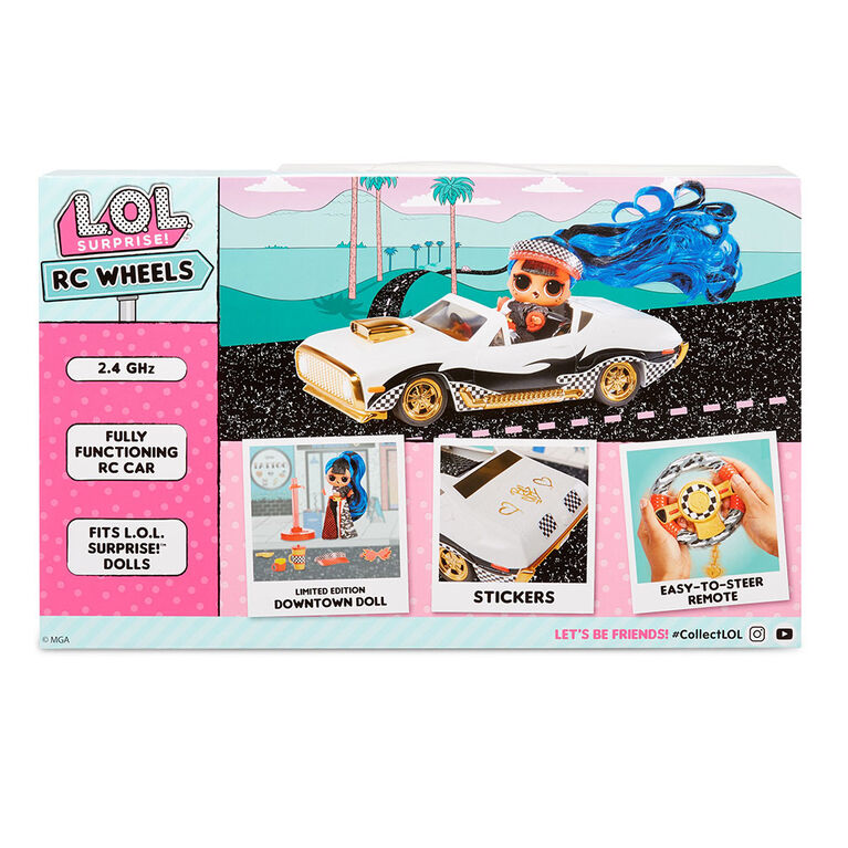 L.O.L. Surprise! RC Wheels - Remote Control Car with Limited Edition Doll