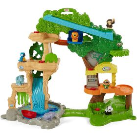 Fisher-Price Little People Share & Care Safari Playset - Bilingual Edition